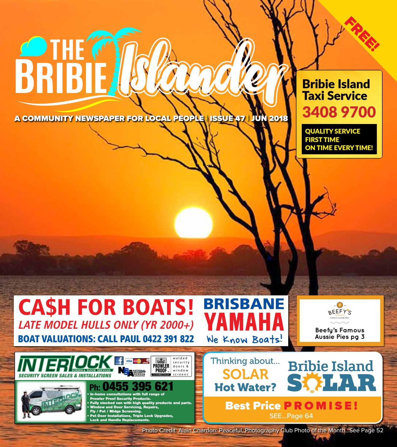 The Bribie Islander June 2018 Issue 47 by The Bribie Islander - issuu