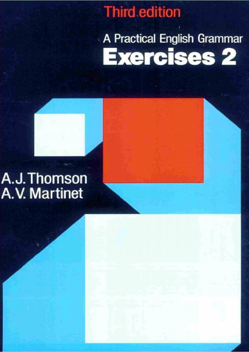 Thomson A Practical English Grammar 3rd Ed Exercises 2 By Ritesh Shrestha Issuu