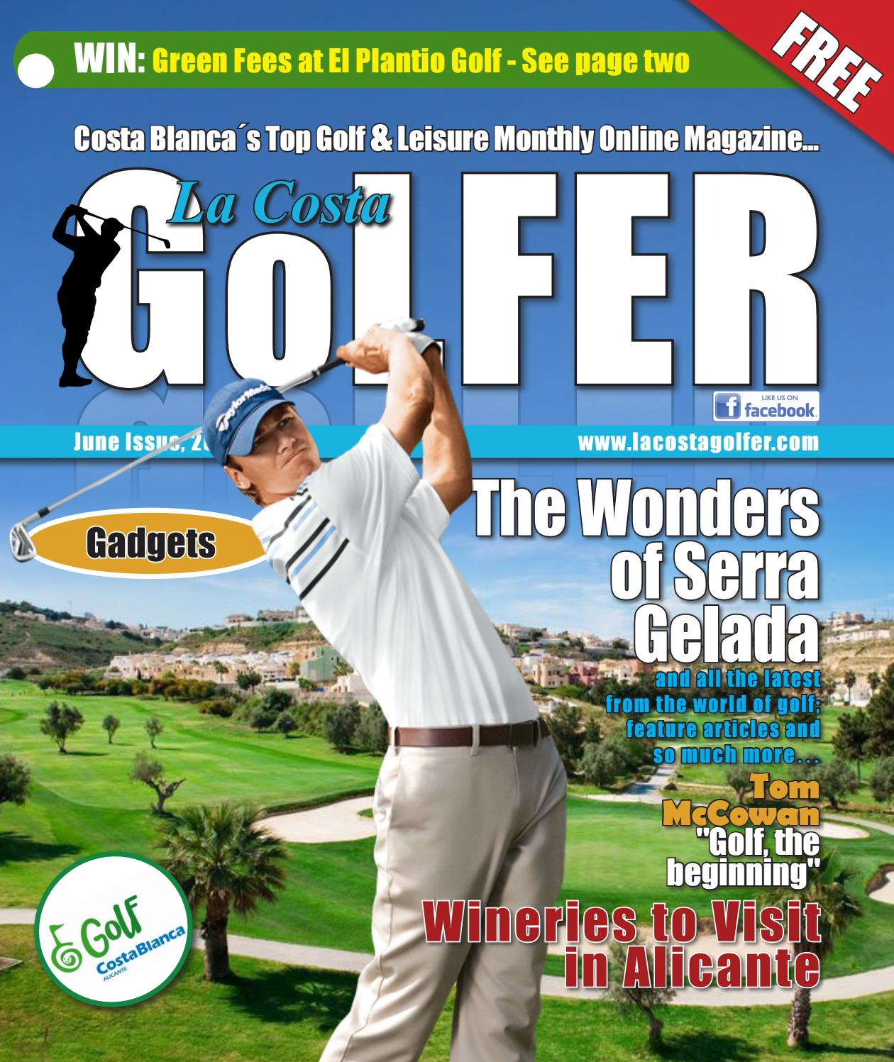 71d42365 La Costa Golfer Online Magazine June Issue 2018 by 4display - issuu