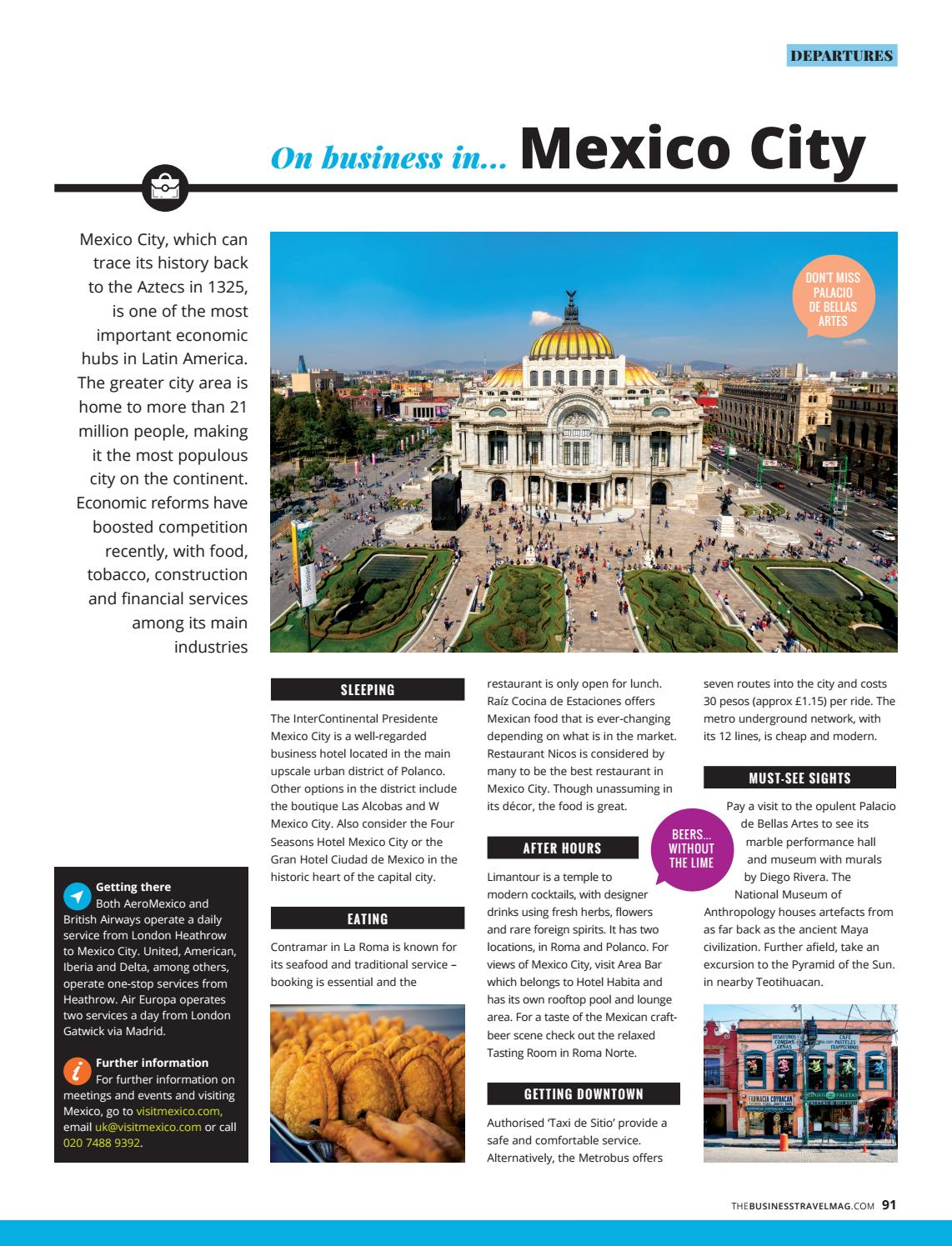 The Business Travel Magazine June/July 2018 by BMI