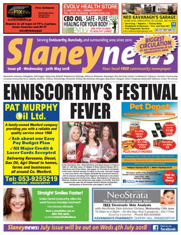 000b5886ce Slaney News, Issue 98, June 2018 by Frank Corcoran - issuu