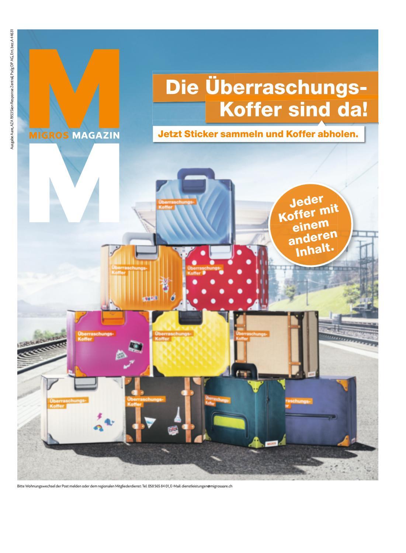 Migros Magazin 23 2018 D Aa By Migros Genossenschafts Bund Issuu