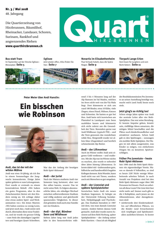 Quart 3 2018 by Quart Hirzbrunnen - issuu