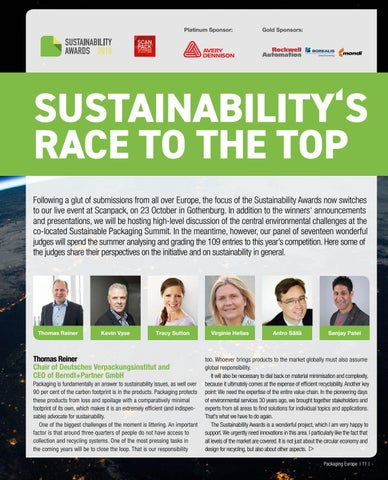 Page 13 of SUSTAINABILITY'S RACE TO THE TOP