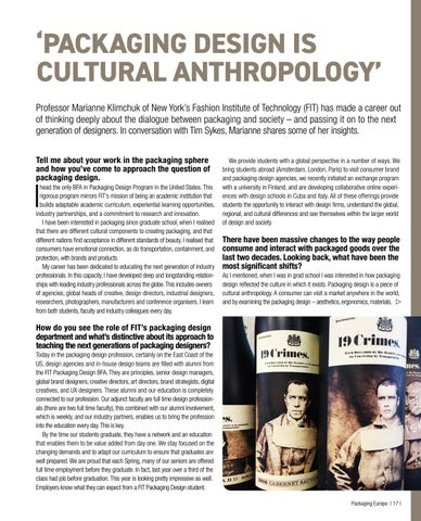 Page 19 of PACKAGING DESIGN IS CULTURAL ANTHROPOLOGY
