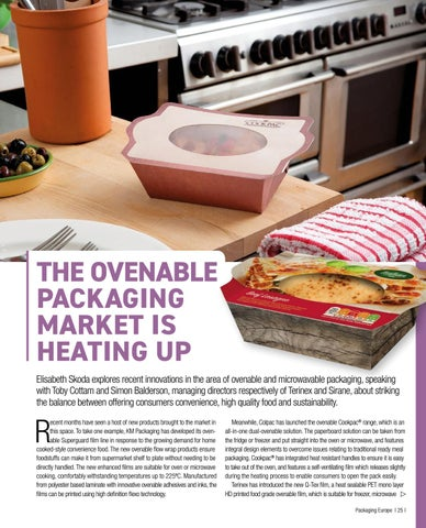 Page 27 of THE OVENABLE PACKAGING MARKET IS HEATING UP