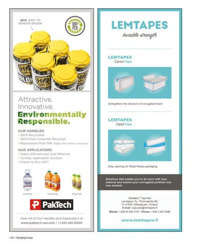 Page 30 of NEW DEVELOPMENTS IN SUSTAINABLE FLEXIBLE PACKAGING