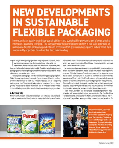 Page 31 of NEW DEVELOPMENTS IN SUSTAINABLE FLEXIBLE PACKAGING
