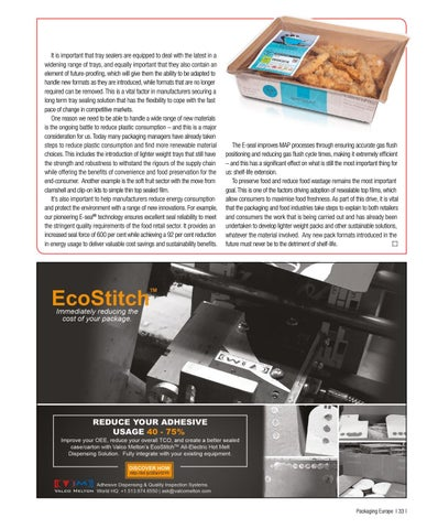 Page 35 of MEETING THE NEEDS OF TODAY'S TRAY SEALER MARKET