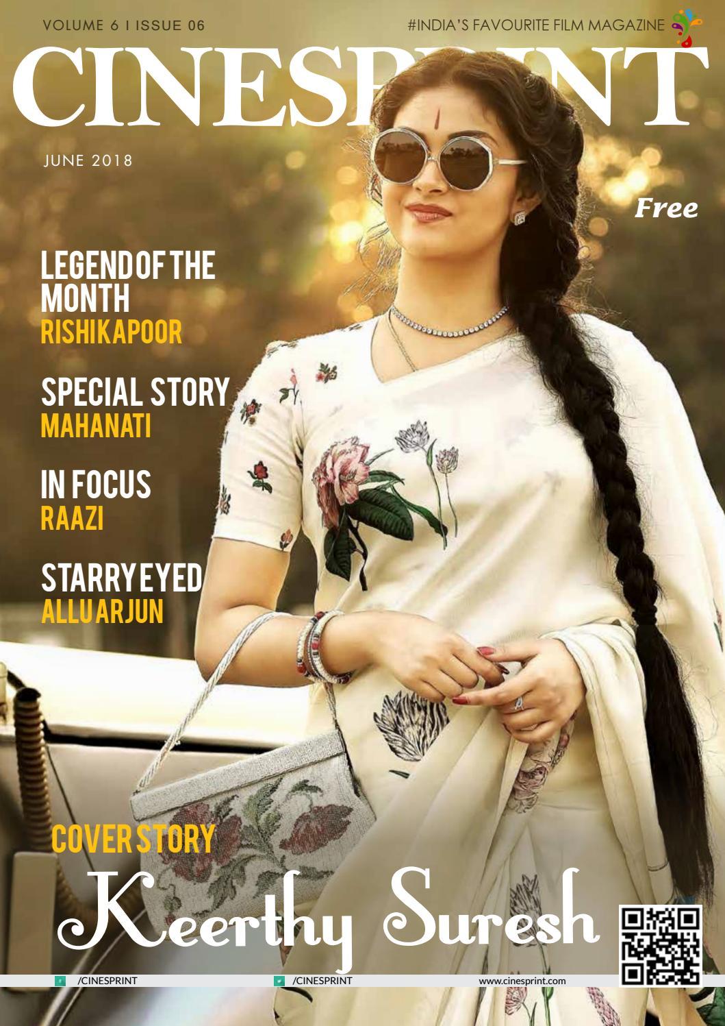 Cinesprint Magazine June 2018 by Wishesh Digital Media Pvt Ltd - issuu