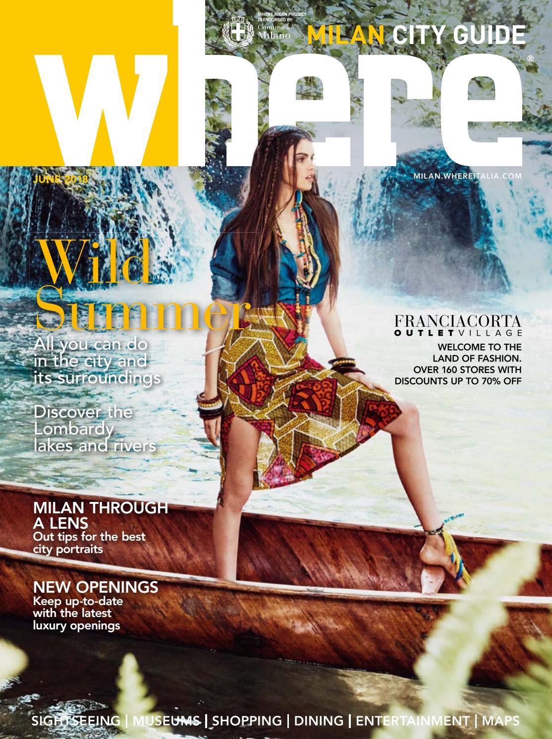 Where Magazine Milan June 2018 By Morris Media Network Issuu