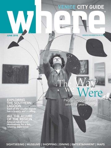 13f27ec60c55 Where Magazine Venice June 2018 by Morris Media Network - issuu