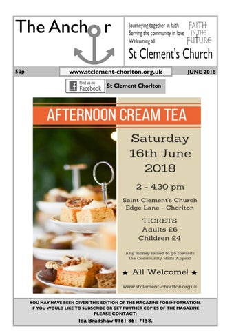 June 2018 by St Clement\'s Church Chorlton - issuu