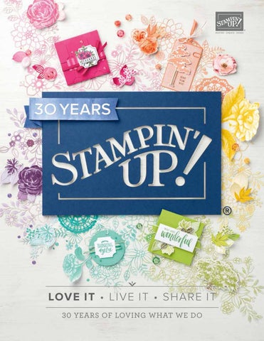 2018-2019 Stampin' Up! Catalog by Stamping Smiles - issuu