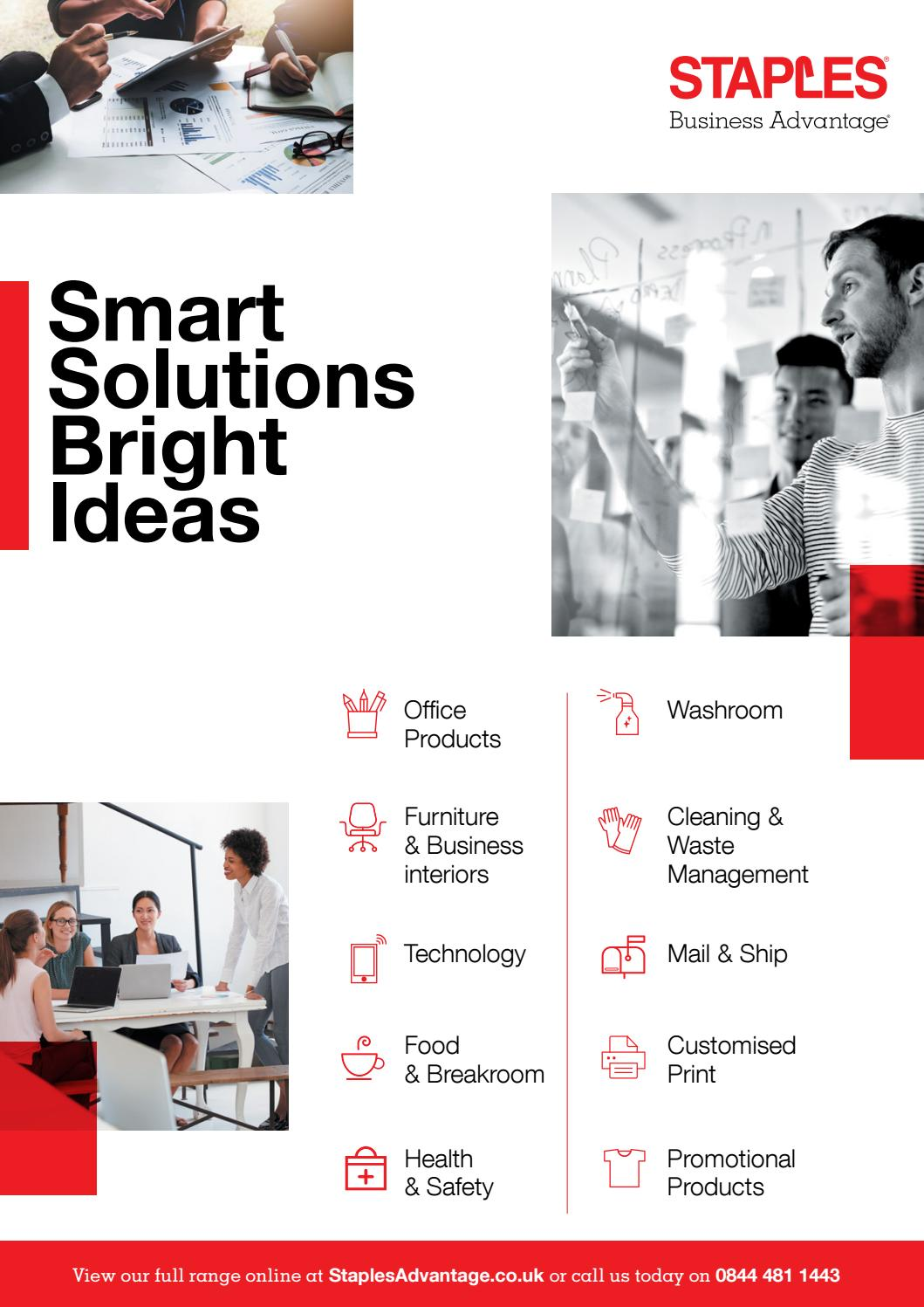 Smart Solutions Bright Ideas Uk V2 By Staples Issuu Maxi Vanelia Apple 3in1