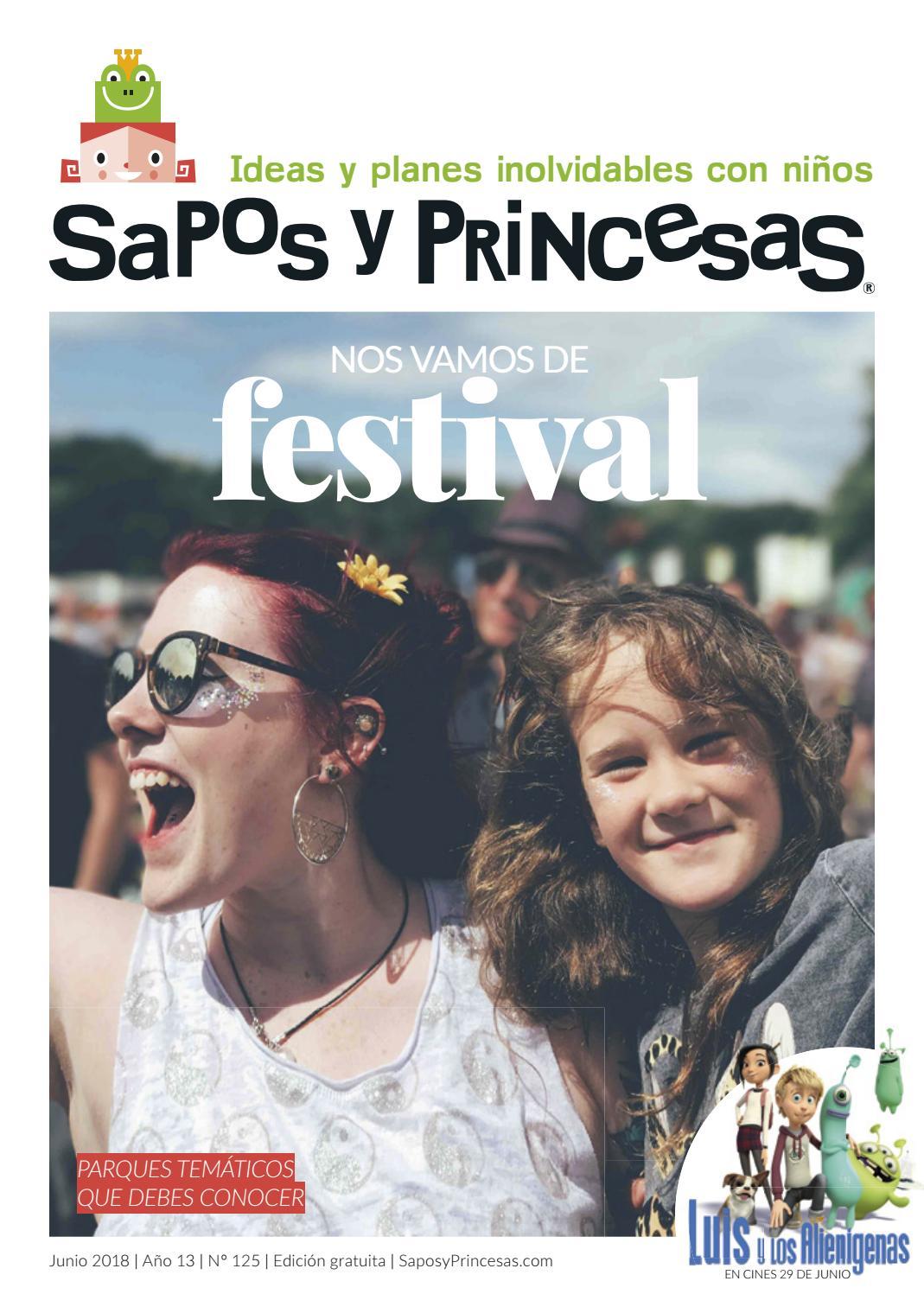 Y 2018 125 Junio Princesas Sapos trdBhxsQC