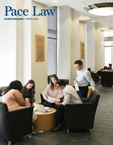 Elisabeth Haub School of Law Alumni Magazine 2018 by Pace Law School