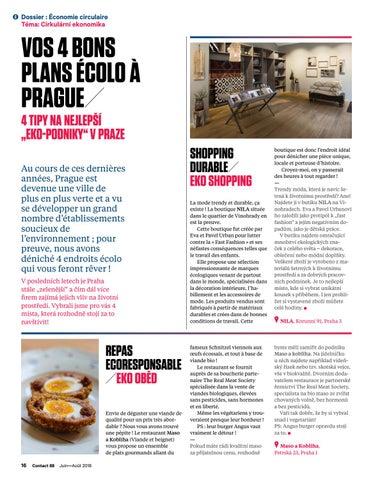 Page 16 of 4 bons plans écolos à Prague!! / Tipy na nejlepší eko-podniky v Praze