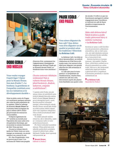 Page 17 of 4 bons plans écolos à Prague!! / Tipy na nejlepší eko-podniky v Praze