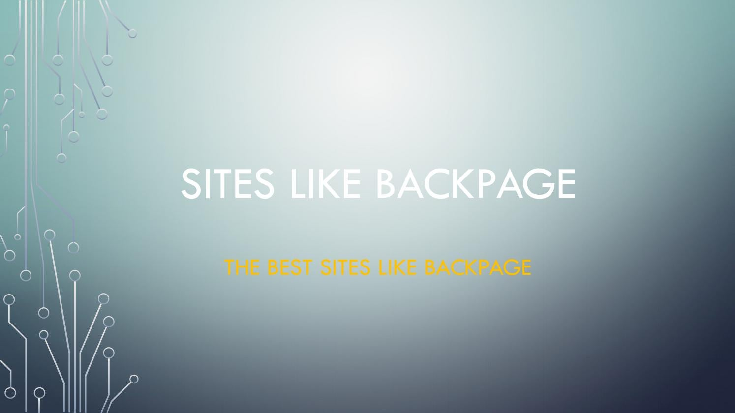 Backpage sites better than The 11