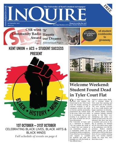 InQuire Issue 13 2 by InQuire Media - issuu