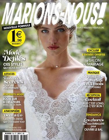 0e75677dd7f60 Marions-Nous N°79 - Eté 2018 by LE SITE DU MARIAGE - issuu