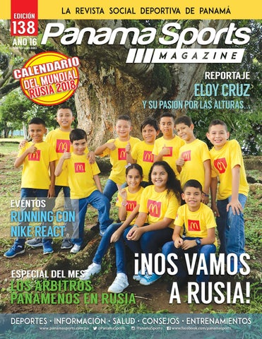 ca83b1eb1 Panama Sports Magazine Vol 138 Junio 2018 by Panama Sports Magazine ...