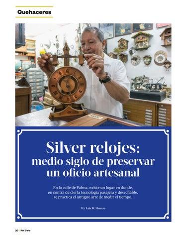Page 22 of Silver relojes: medio siglo de preservar un oficio artesanal