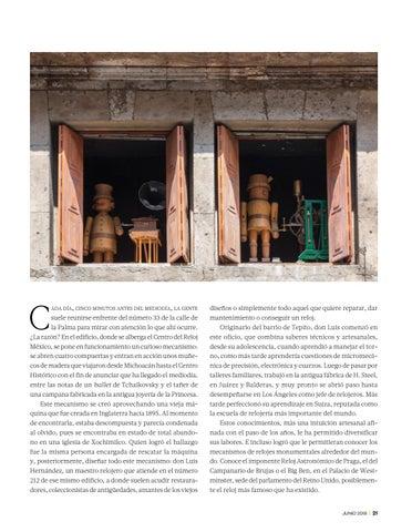 Page 23 of Silver relojes: medio siglo de preservar un oficio artesanal
