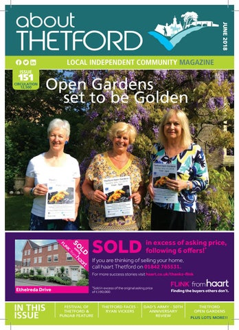 JUNE 2018 About Thetford magazine by Terry Jermy - issuu