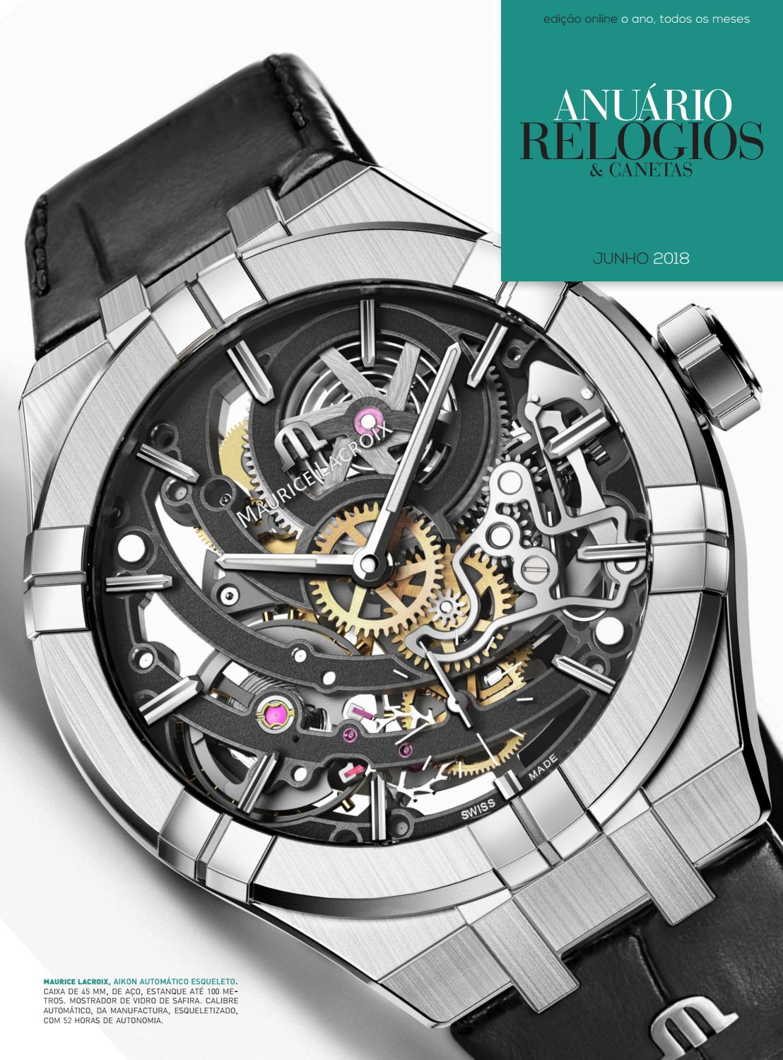 107b5714419 Anuário Relógios   Canetas - Junho 2018 by Anuário Relógios   Canetas -  issuu