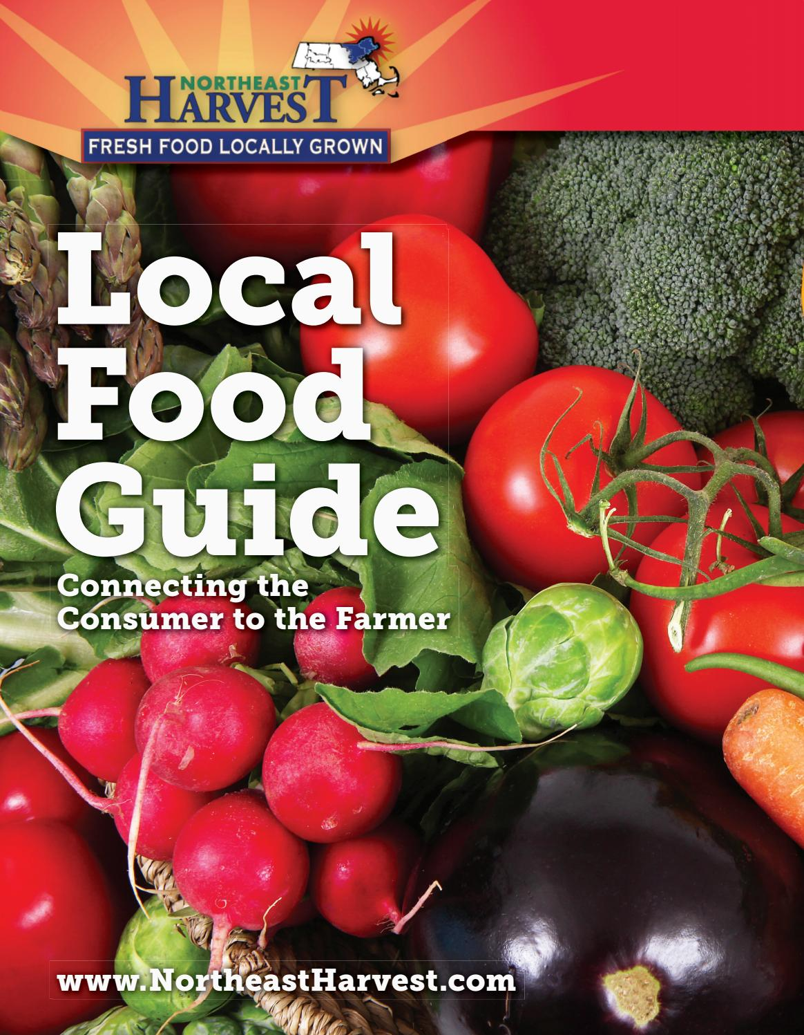 Northeast Harvest Local food Guide 2018 by