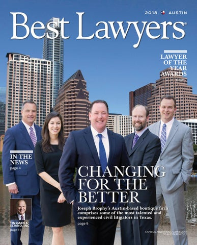 Best Lawyers In Texas 2018 Austin San Antonio Edition By Best Lawyers Issuu