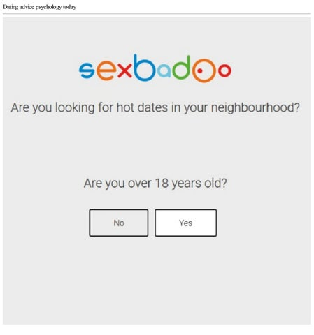 Online dating by age group