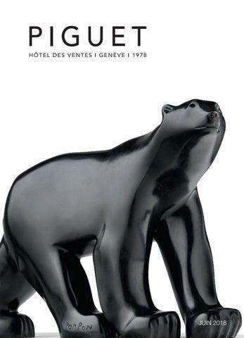 13df6bd37ef Piguet Auction house Geneva l June 2018 by Piguet Hôtel des Ventes ...