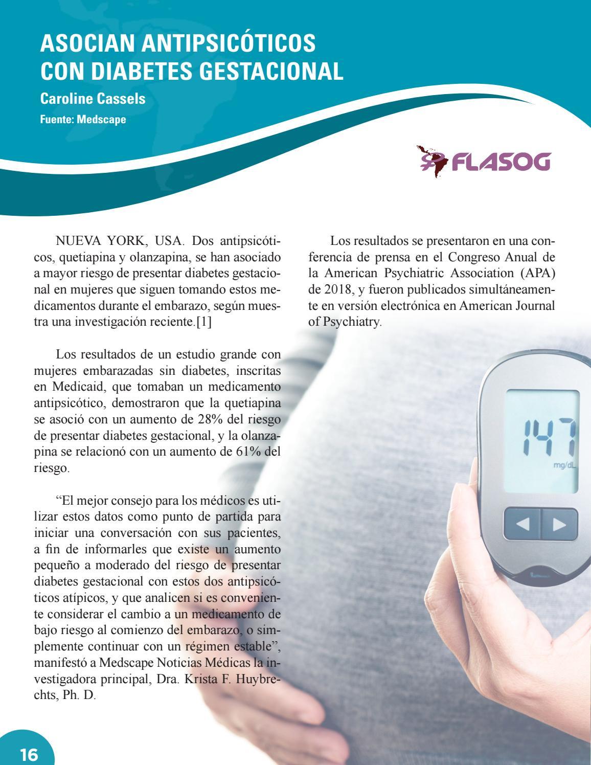 diabetes en la investigación del embarazo