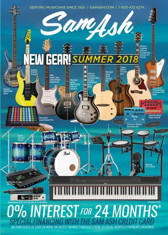 1aa253403bc Summer 2018 Sam Ash Gear Guide by Sam Ash Music Corp. - issuu