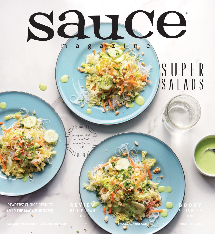 Sauce Magazine // June 2018