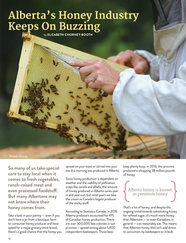 Page 16 of Alberta's Honey Industry Keeps On Buzzing