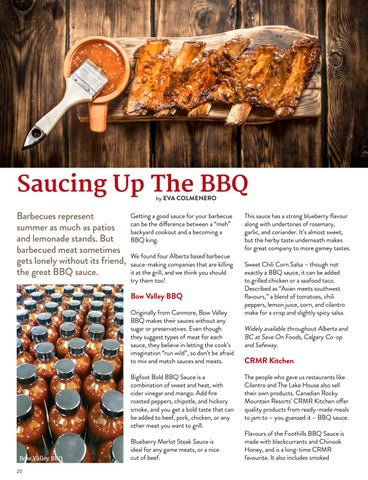 Page 20 of Saucing Up The BBQ
