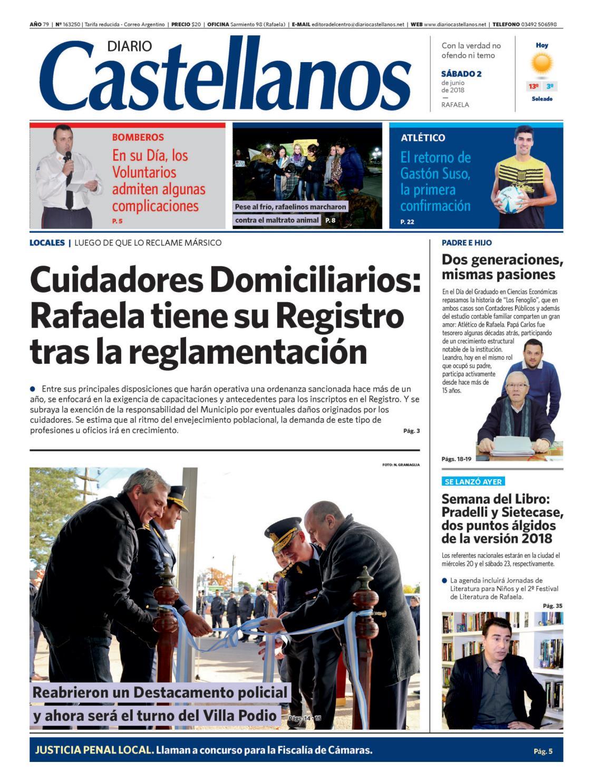 eb08ec0062cf8 Diario Castellanos 02 06 by Diario Castellanos - issuu