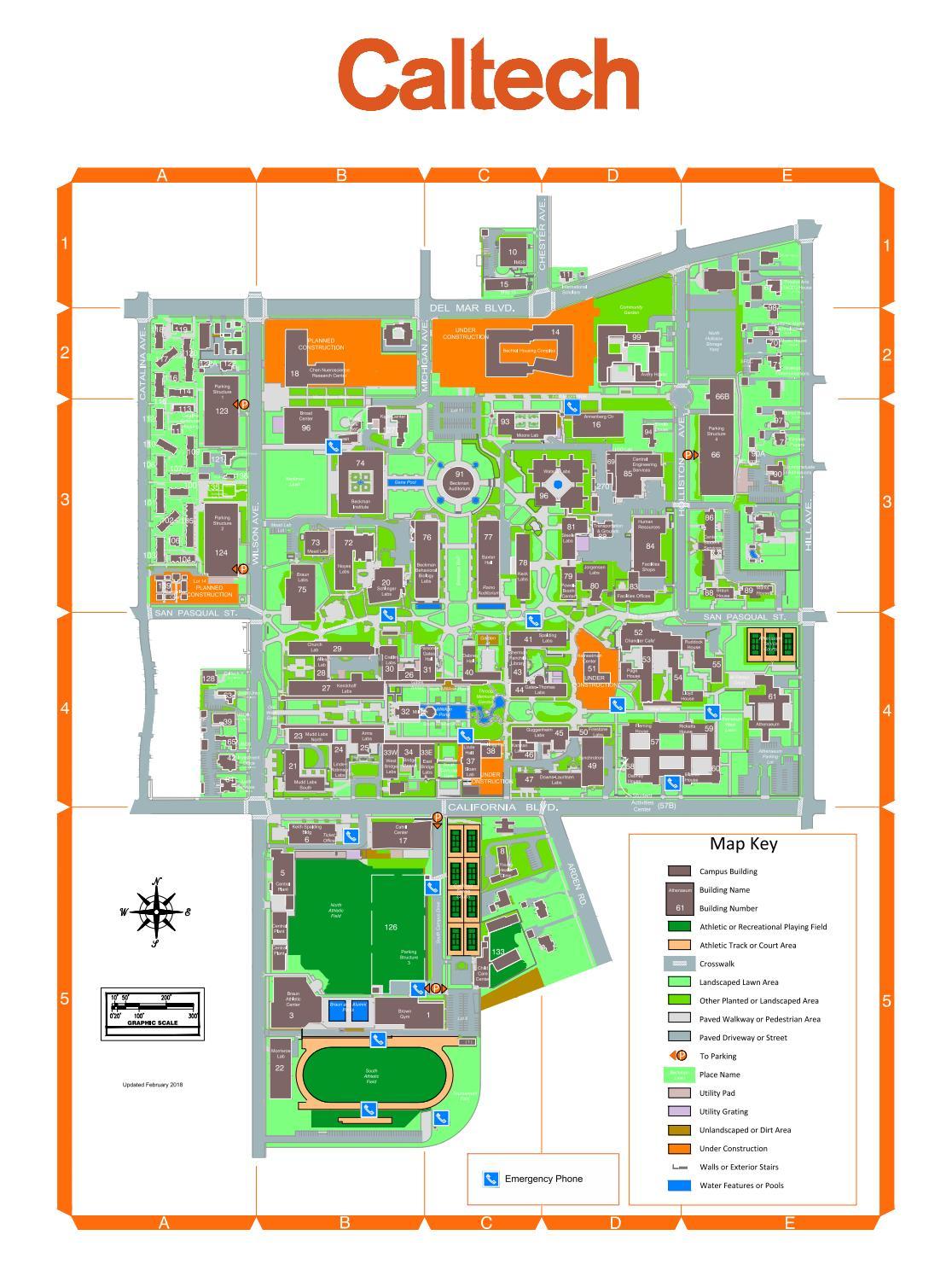 Caltech Map by PMA Caltech  Issuu
