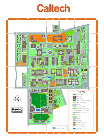 Caltech Map by PMA_Caltech - issuu on