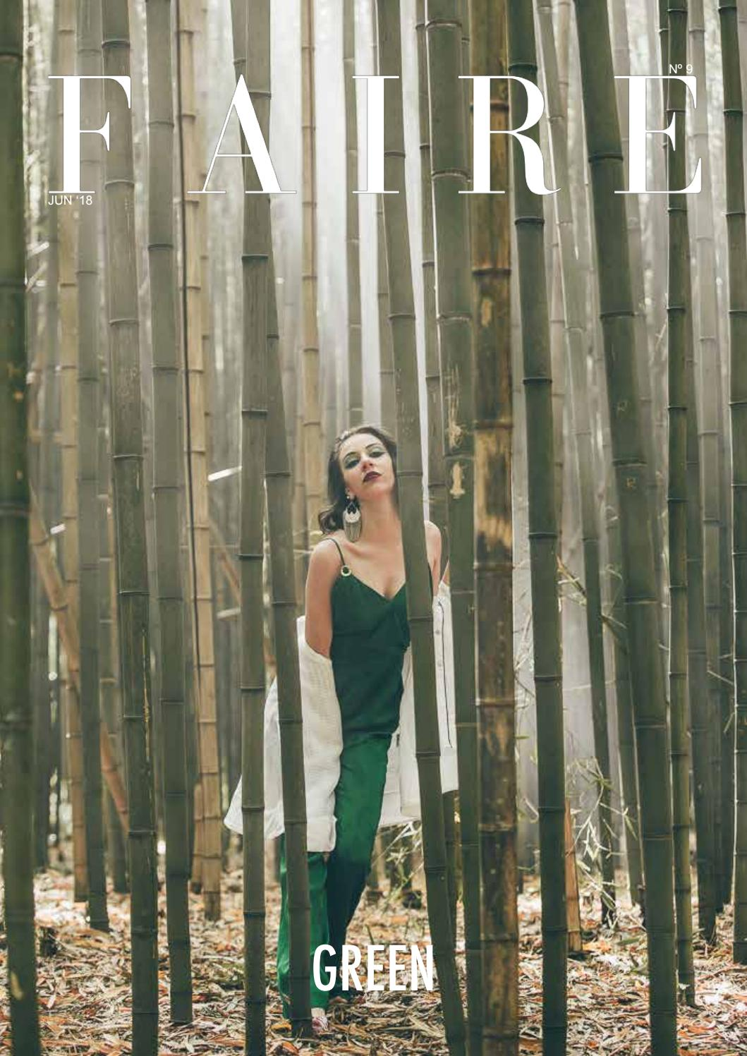 afe7f0d8c9249b 9 GREEN EDITION - 2ªCAPA by FAIRE MAGAZINE - issuu