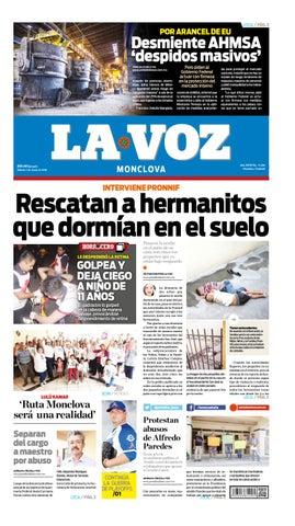 Periódico La Voz edición 02 de Junio 2018 by LA VOZ Monclova - issuu 94cc81d6910db