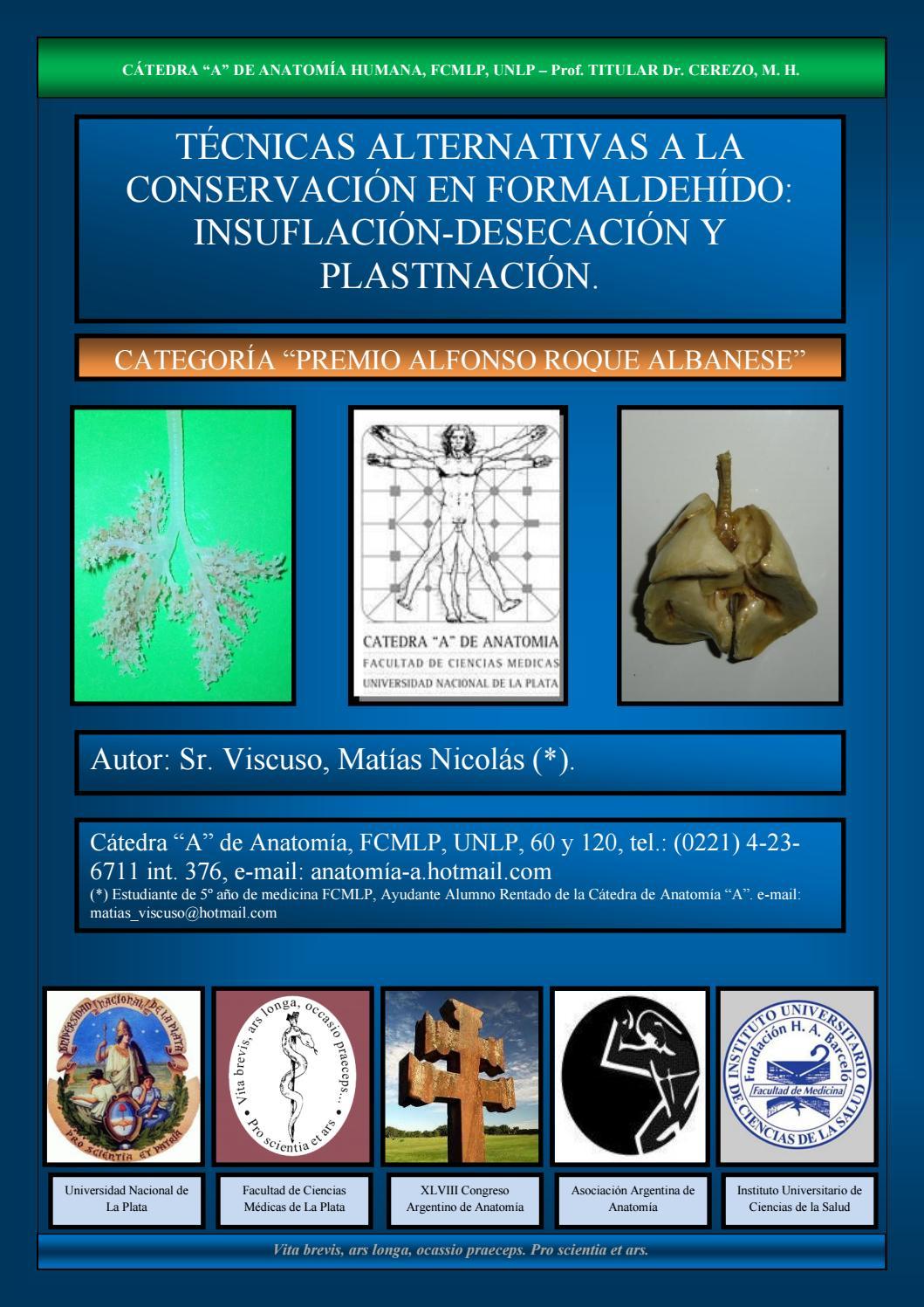 Viscuso, Matías - Técnicas Alternativas a la Conservación en ...