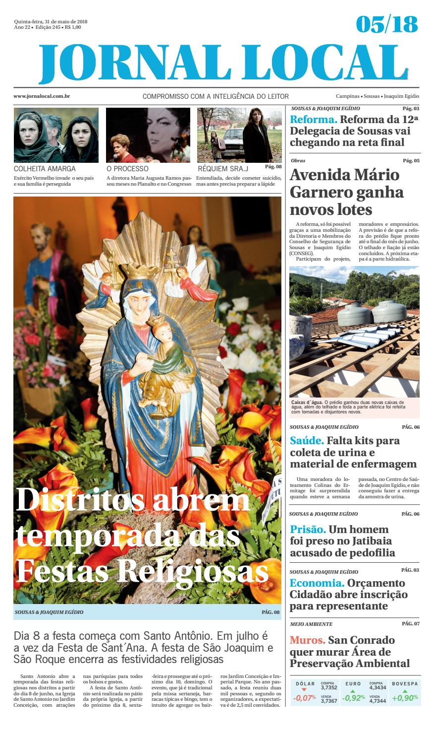 122e86cd2db Jornal local issuu by Jornal Local Sousas e Joaquim Egídio - issuu