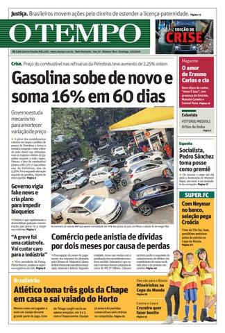 O Tempo - 03 de junho de 2018 by Tecnologia Sempre Editora - issuu 447e5988067fb