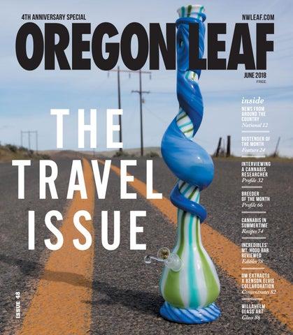 Oregon Leaf — June 2018 by Northwest Leaf / Oregon Leaf / Alaska