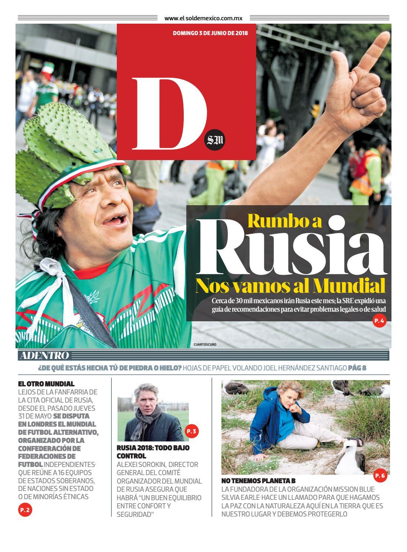 Dominical 3 de junio by El Sol de México - issuu